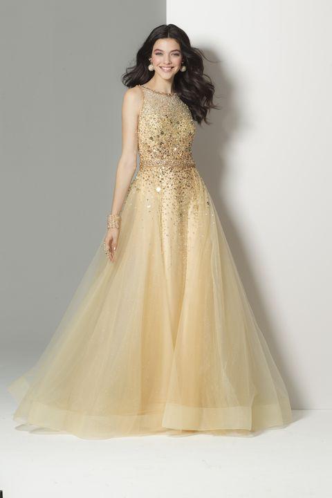 Golden Princess Dress