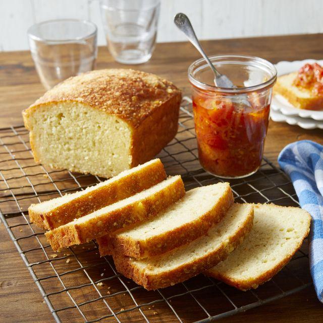 parmesan and garlic quick bread