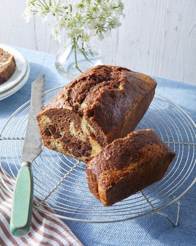 chocolate cinnamon marble bread