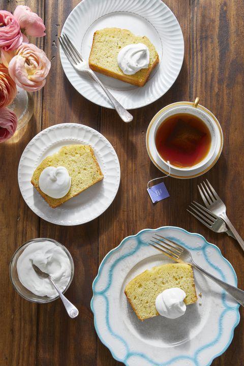 lemon rosemary tea cake