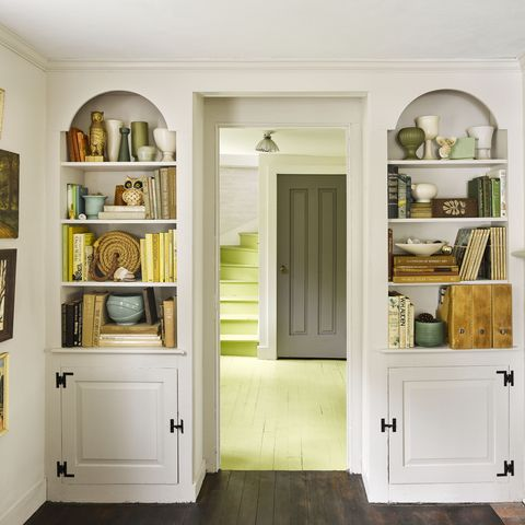 lime green   colors that go with gray paint