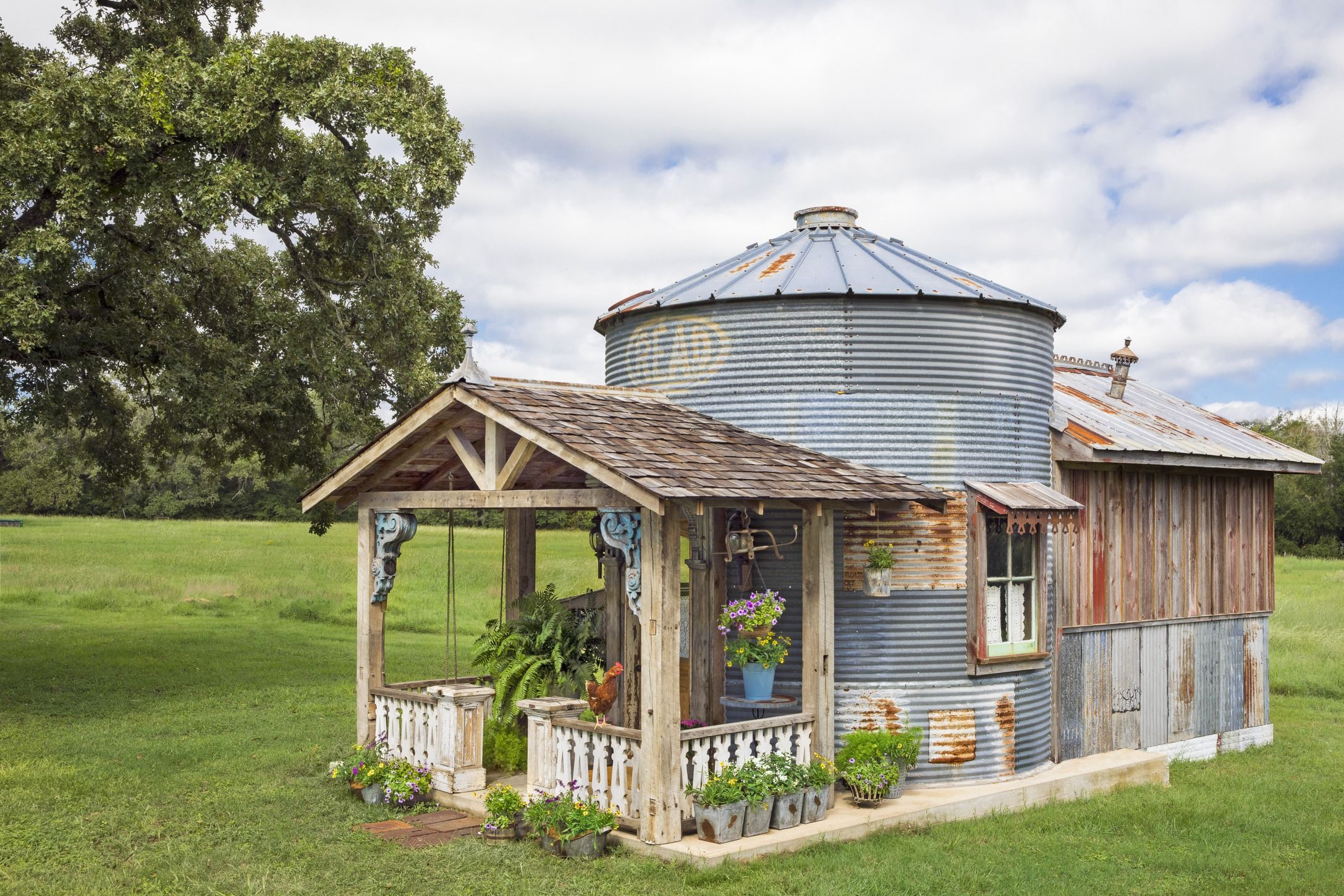 This Grain Silo Guesthouse is Every Country Girl's Dream