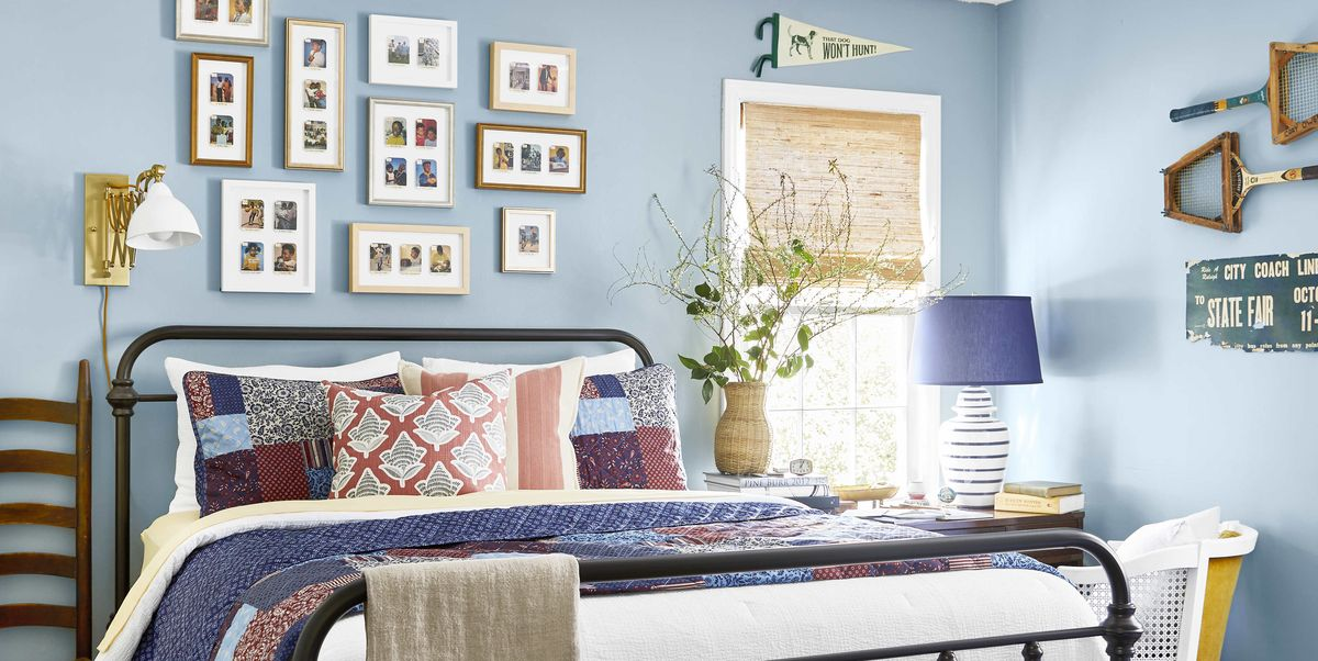 See How a DIY-Loving Couple Transformed Their Bedroom, Bathroom, and Laundry Room