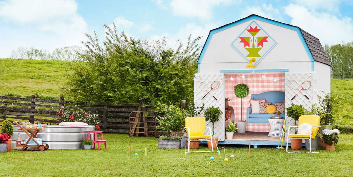 How to Set Up a Chic Shed in a Single Weekend
