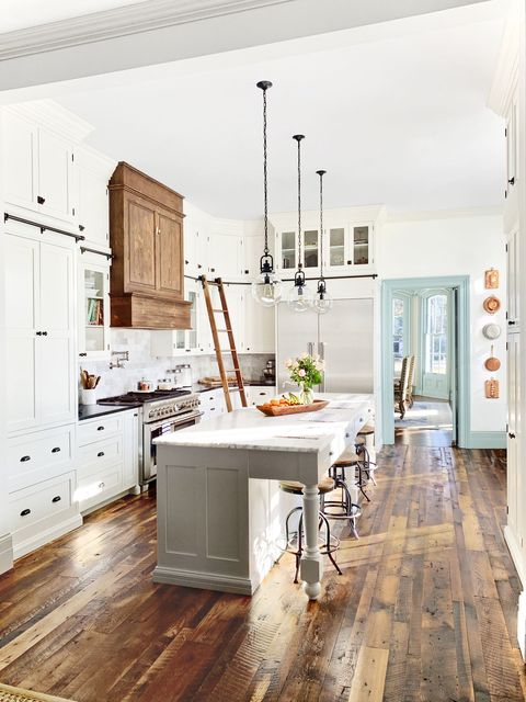 34 Farmhouse Style Kitchens - Rustic Decor Ideas for Kitchens