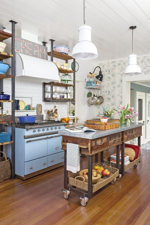 Farmhouse Kitchen Wallpaper