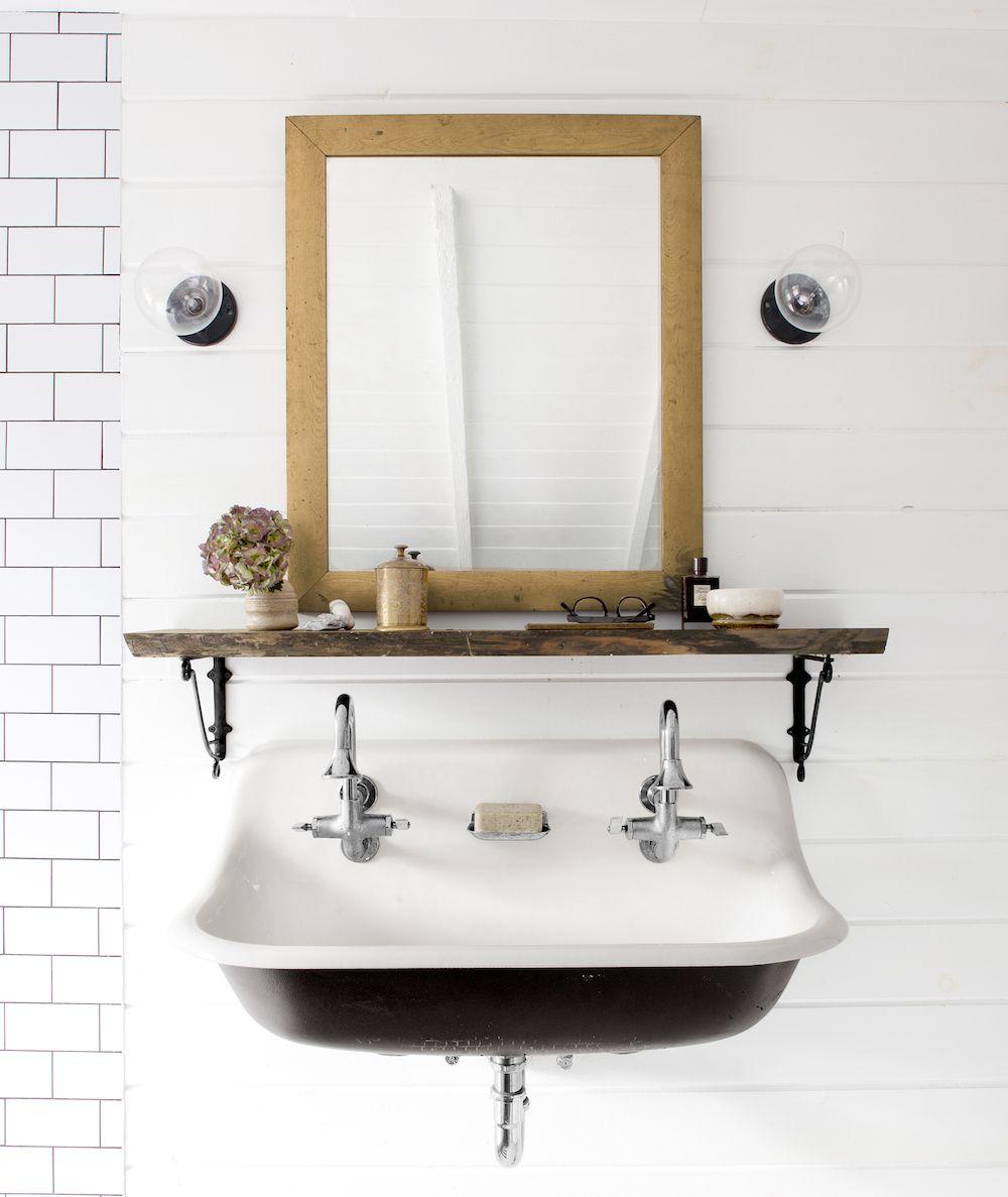 House Beautiful & 21 Stylish Bathroom Shelf Ideas - The Most Clever Bathroom Storage ...