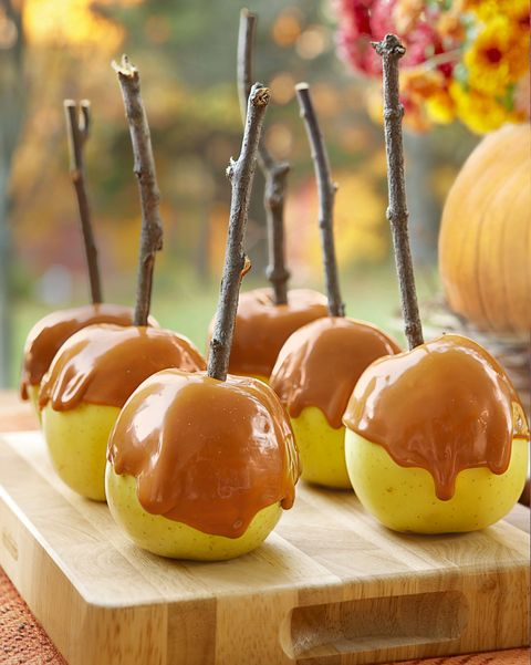 paint by numbers caramel apples