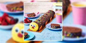 Asda is launching a one-and-a-half-foot long caterpillar cake