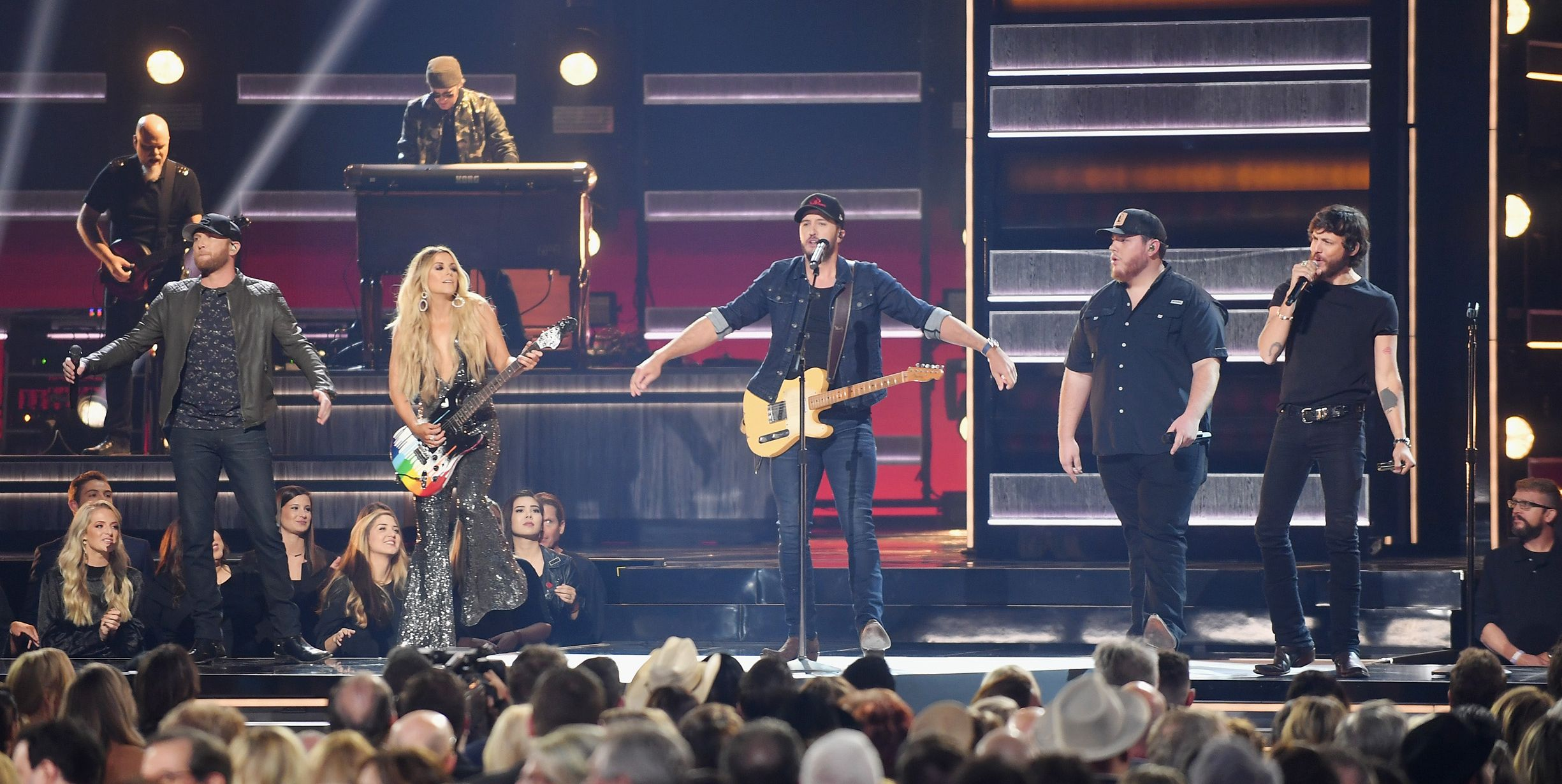 cma awards 2018 performances luke bryan