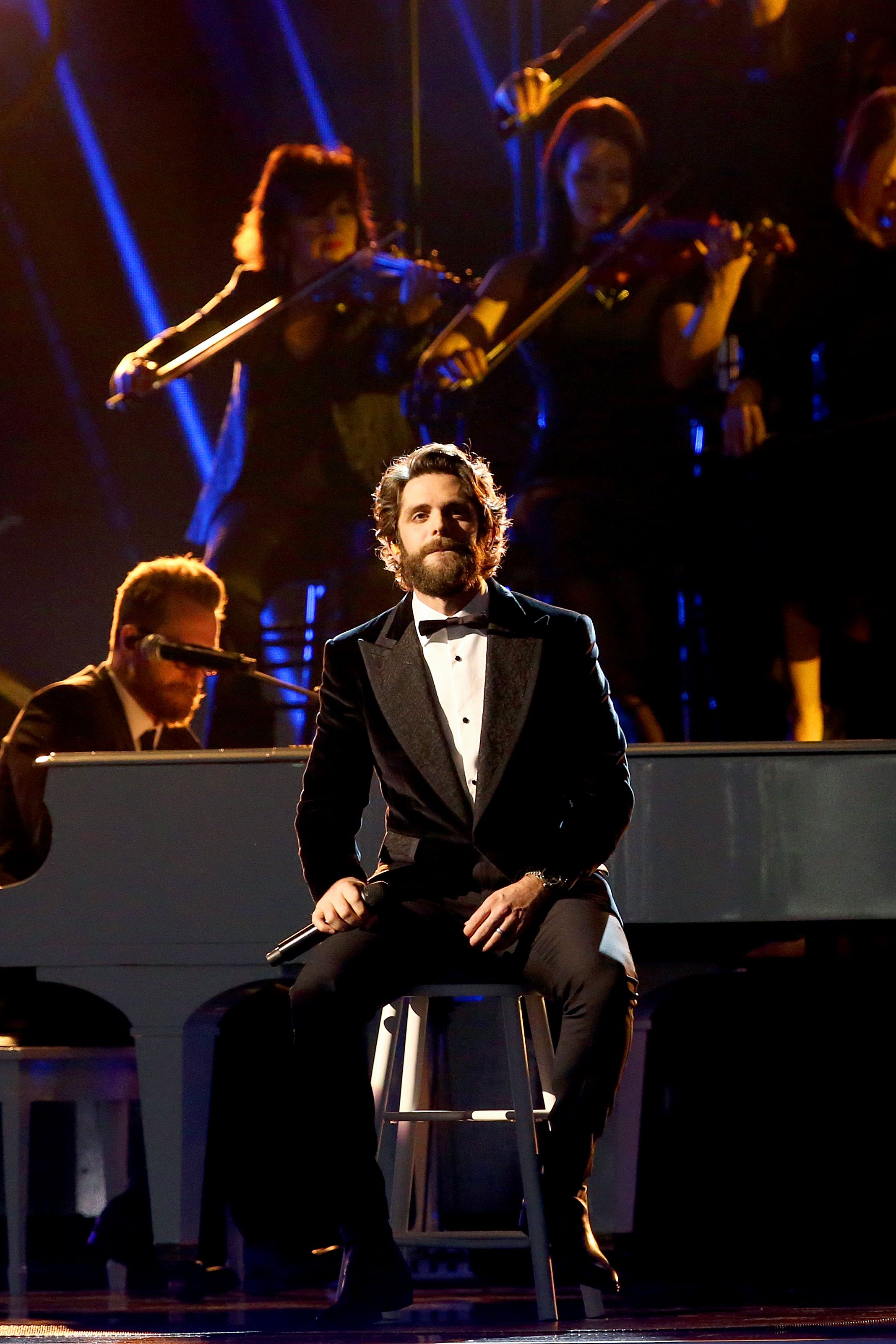 Oops! Thomas Rhett Messed Up the Lyrics to His Own Song at the CMA Awards
