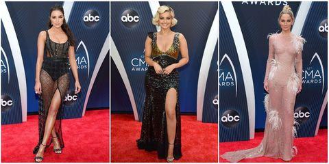 cma awards most scandalous dresses