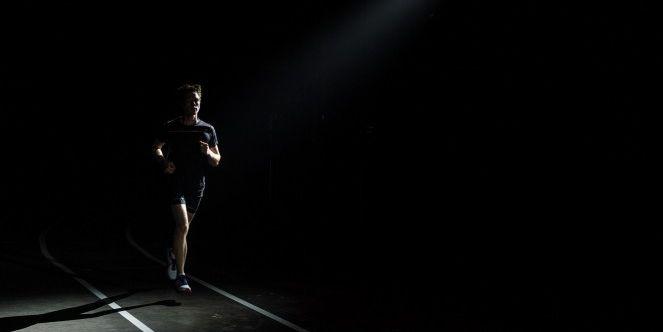 hardlopen op je gevoel, gevoel, blackout track, ASICS, zen hardlopen