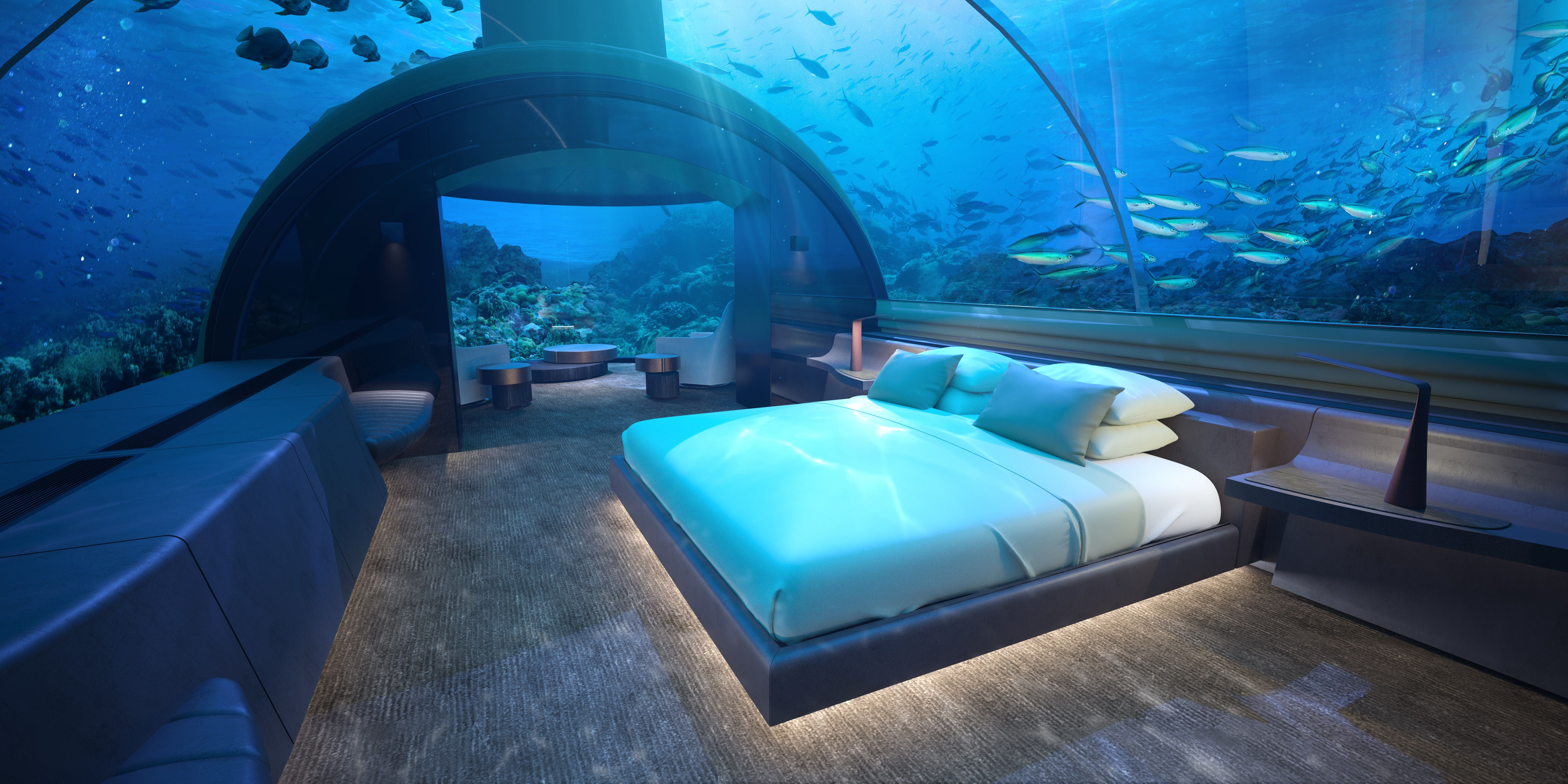 An Underwater Villa Is Opening in the Maldives This Year - Undersea ...