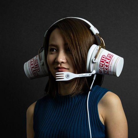 Audio equipment, Mouth, Neck, Headphones, Ear,
