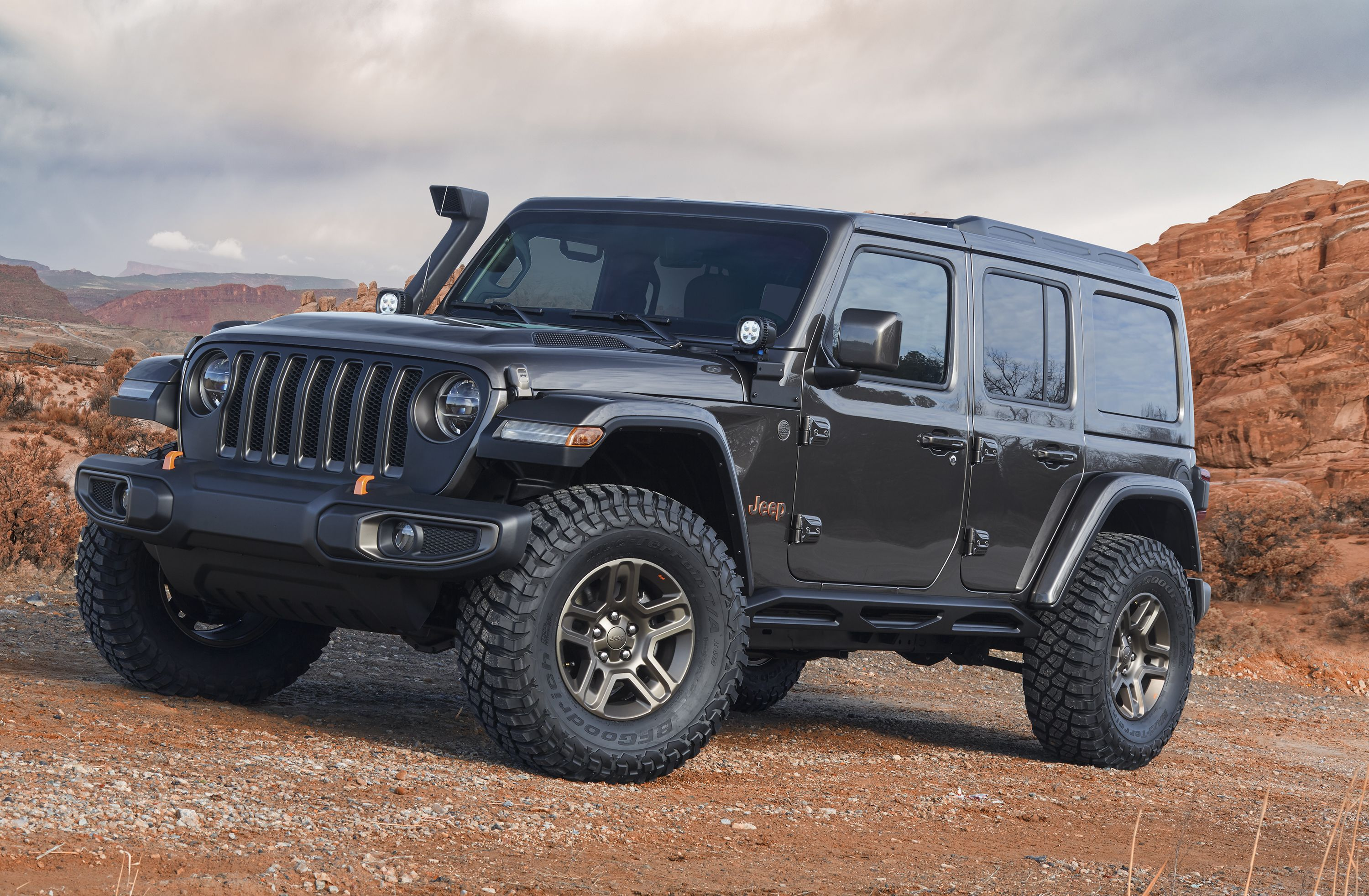 Check Out These Rad Jeep Concepts For The 2018 Easter Safari Power Wheels Wrangler Parts Diagram