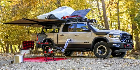 Used Trucks Tucson >> Ram 1500 Rebel Goes off the Grid with OTG Concept for SEMA ...