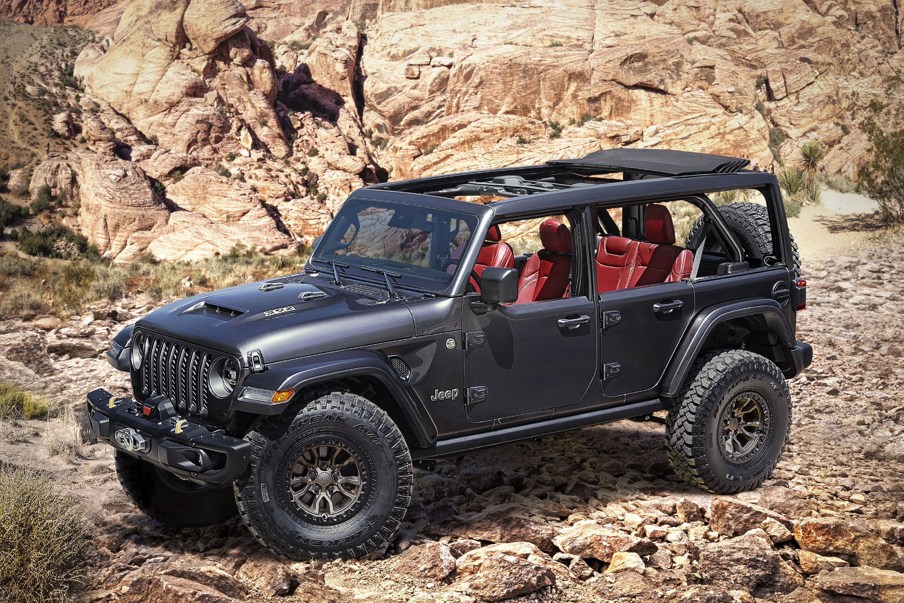 Jeep Wrangler Rubicon with 5-HP V-5 Is Coming