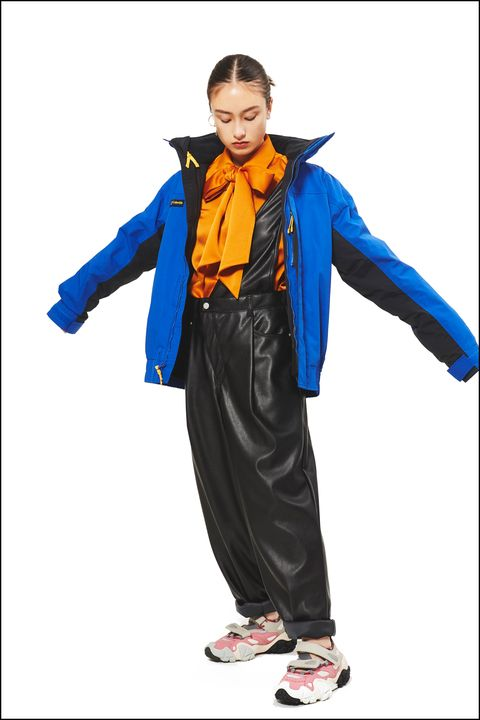 Clothing, Outerwear, Electric blue, Workwear, Costume, Jacket,