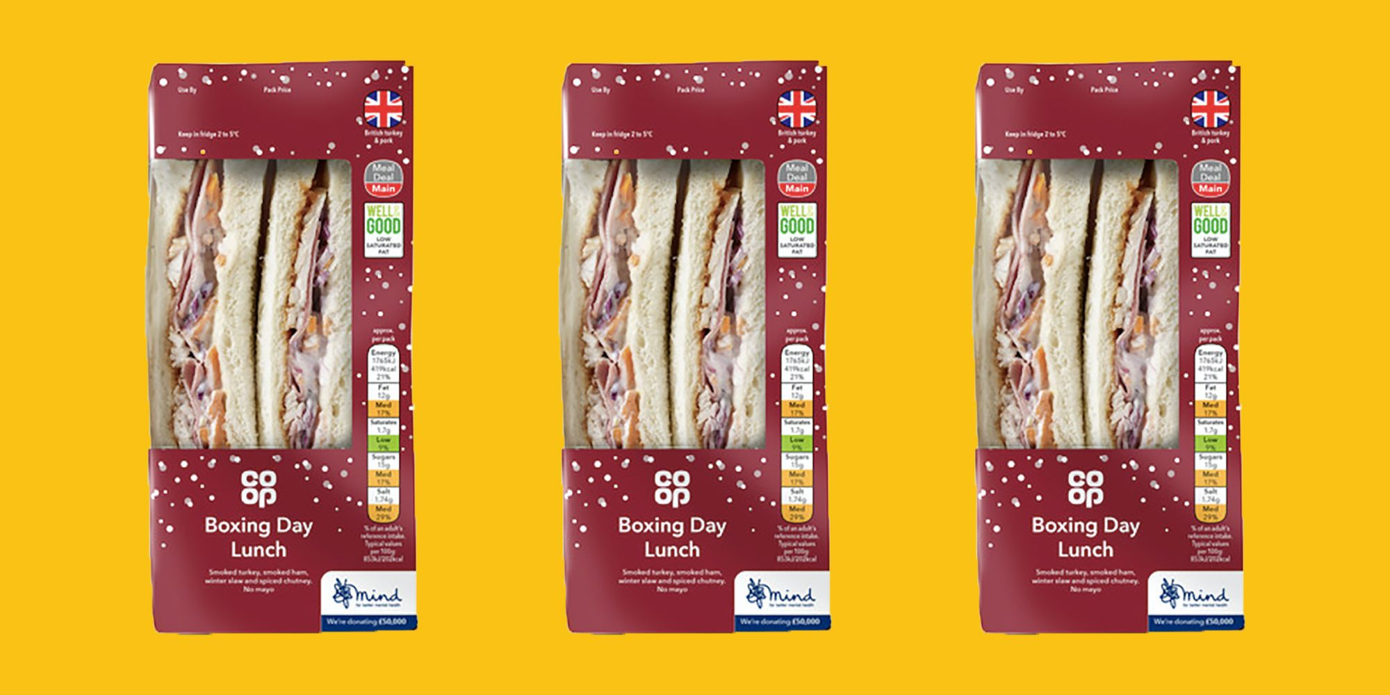 Co-op's New Boxing Day Sandwich Is Everything We Want For Lunch And More