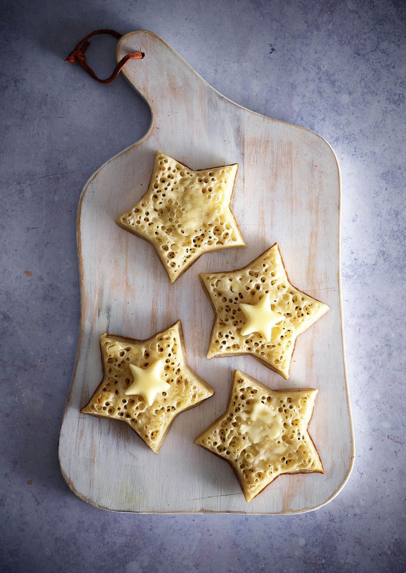 Star Shaped Crumpets Is All We Want To Eat For Breakfast From Now On