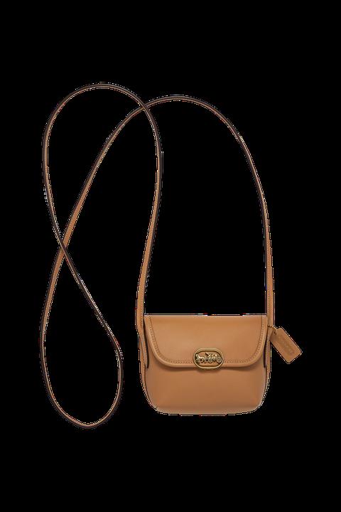 Bag, Tan, Beige, Brown, Handbag, Leather, Fashion accessory, Shoulder bag, Strap,