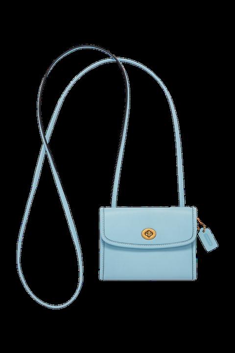 Bag, Handbag, White, Shoulder bag, Turquoise, Fashion accessory, Leather, Turquoise,