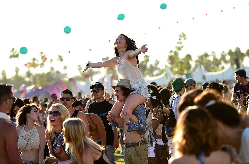 Herpes Cases Soared During Coachella Festival