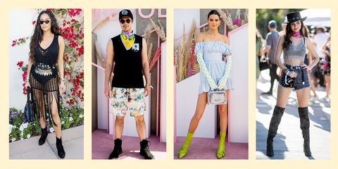 57c40afc 52 Best Celebrity Outfits at Coachella 2019 - Hottest Coachella Fashion
