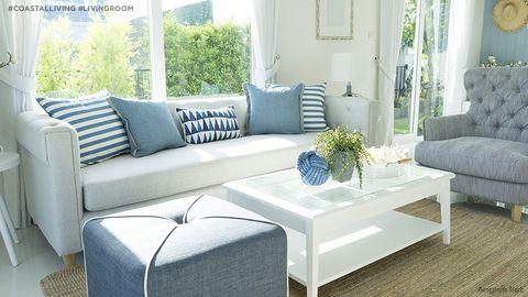 coastal living living room