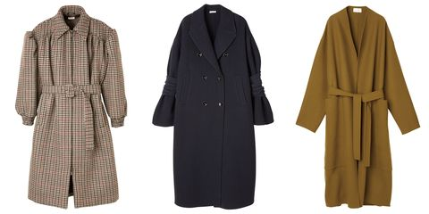 Clothing, Overcoat, Coat, Outerwear, Robe, Trench coat, Duster, Sleeve, Frock coat, Costume,