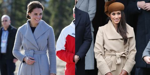 2a2739948 Kate Middleton and Meghan Markle Dressing Alike - Kate Middleton and ...