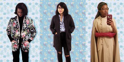 Clothing, Outerwear, Fashion, Jacket, Fashion design, Top, Pajamas, Pattern, Costume, Sleeve,
