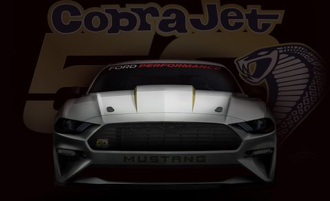 Ford Claims Mid Eight Second Quarter Mile For 2018 Mustang Cobra Jet