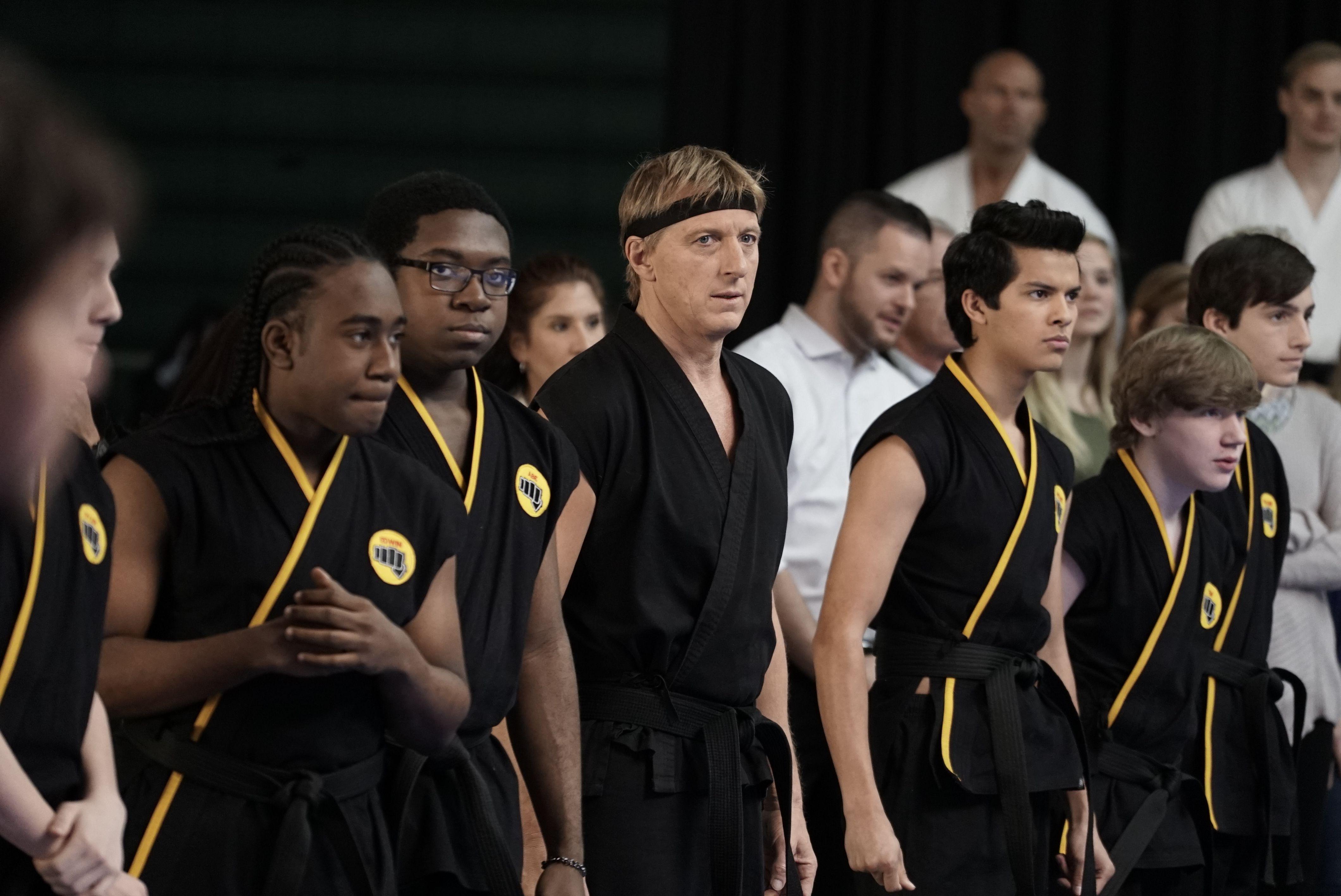 "Cobra Kai star on ""amazing reconnection"" of Karate Kid return"