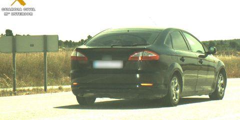 coche a 170 kmh