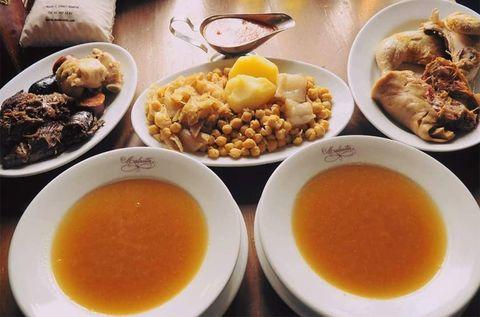 cocido del restaurante malacatín, madrid