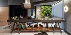 Cocina de Loader logo Culinary Atelier de W4 Arquitetura Criativa