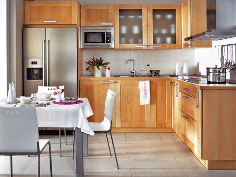 ideas para encontrar el mejor sitio para poner el microondas On microondas en cocinas pequenas