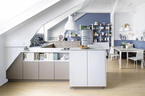 espacios integrados cocina abierta