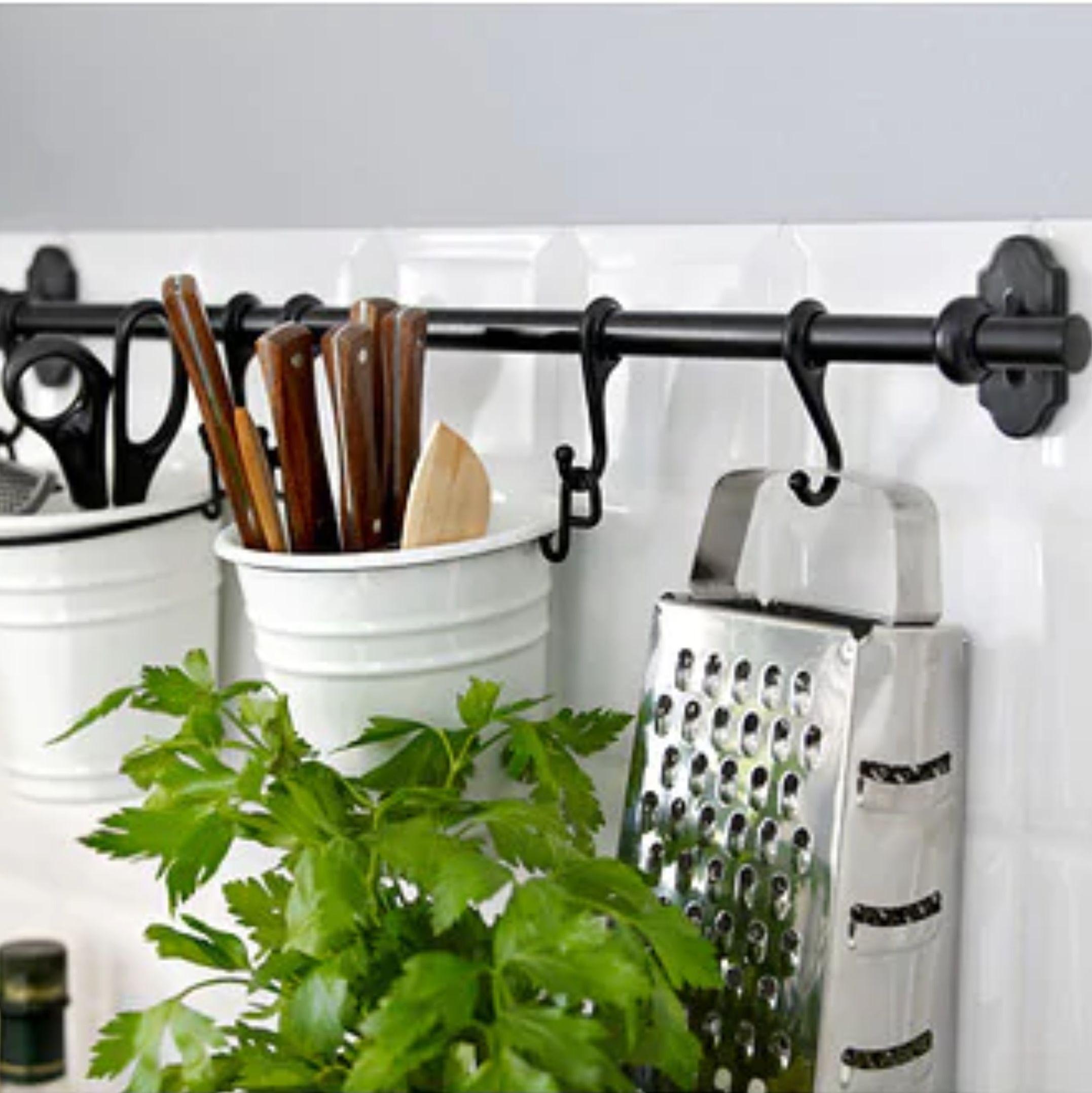 cómo organizar la cocina y ganar espacio con productos de Ikea
