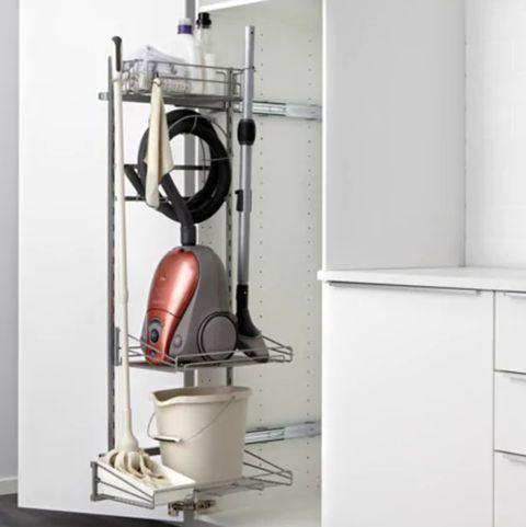 C mo organizar la cocina y ganar espacio organizadores - Cocina armario ikea ...