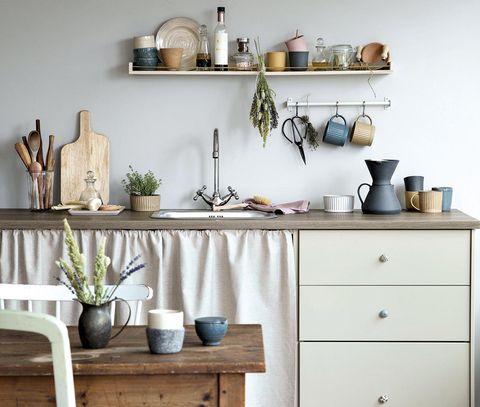 Cocina rústica de Søstrene Grene