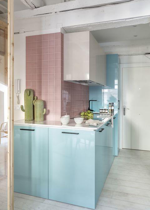 cocina bicolor