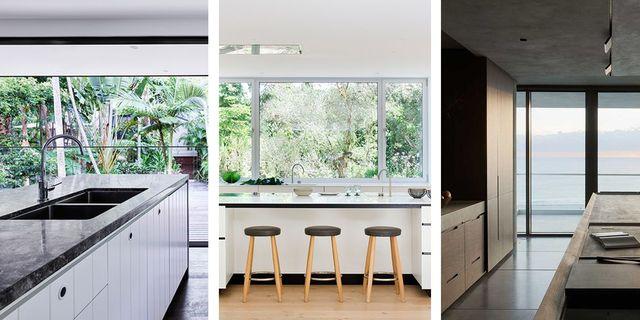 cocinas que se abren a la naturaleza y al paisaje