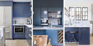 Cocinas azules en Instagram