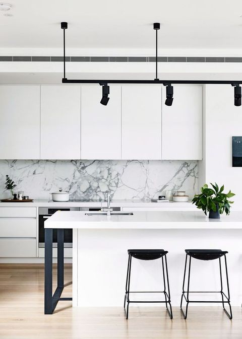 Cocinas en blanco muy modernas