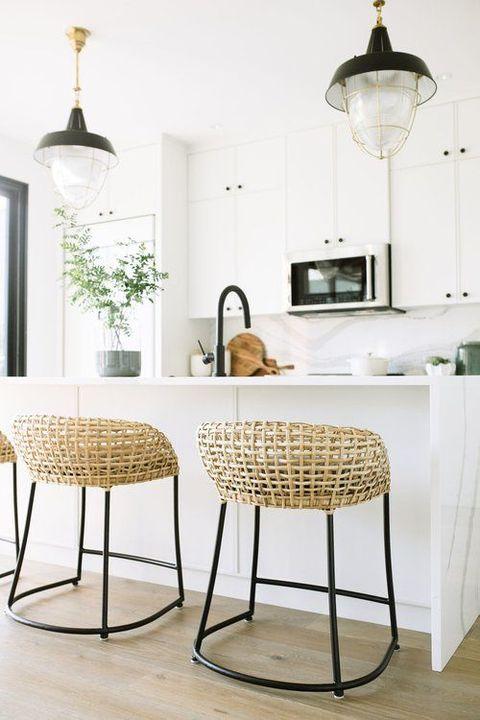 cocinas decoradas Cocinas En Blanco Muy Modernas