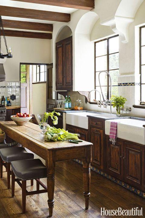 Cómo decorar cocinas rústicas y acogedoras
