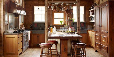 Como Decorar Cocinas Rusticas Y Acogedoras - Imgenes-de-cocinas